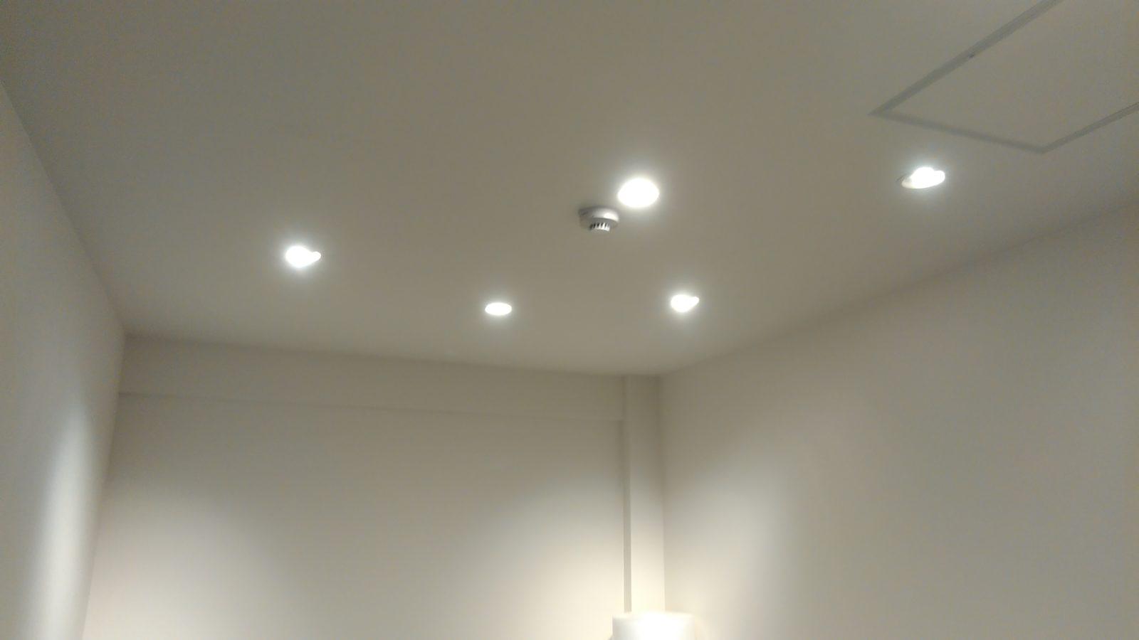 小部屋天井