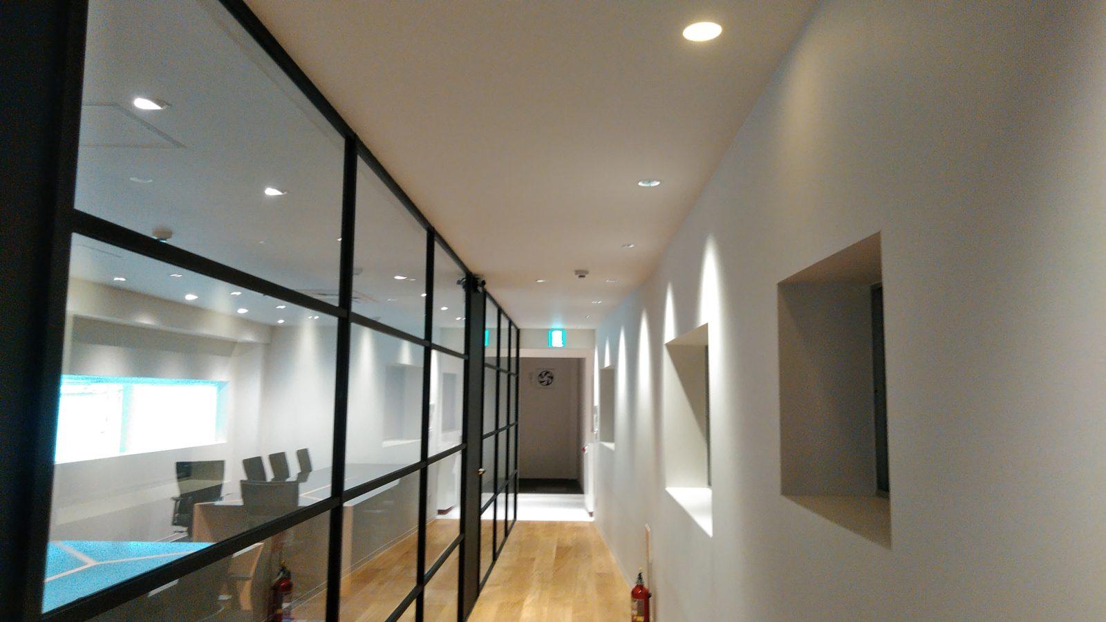 会議室廊下