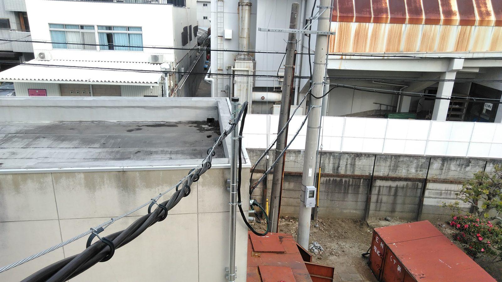 架空配電線
