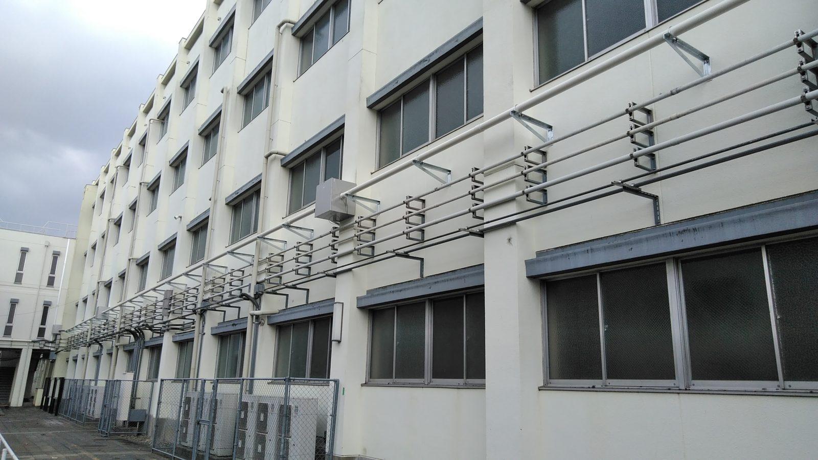 高圧配電線路完成写真