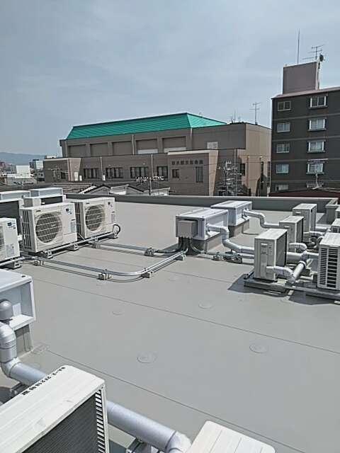 空調電源配管